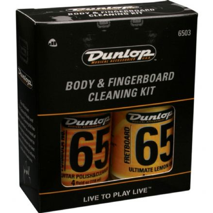 Dunlop System 6503 Body And Fingerboard Cleaning Kit